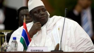 Mr Jammeh had said there were irregularities in the presidential election