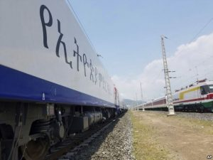 The Ethiopia-Djibouti project was 70 percent funded by a loan from China's state-run Exim Bank and built by China Railway Group and Chinese engineers.
