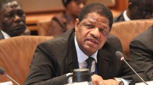 The President of the ECOWAS Commission, Mr Marcel de Souza