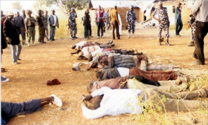 Victims of the Kaduna carnage