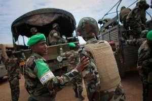 AMISOM troops serving in Belet Weyne, Somalia. Photo: AU-UN/Stuart Price