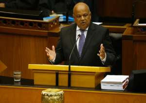 South Africa's Finance Minister Pravin Gordhan is popular with foreign investors but is seen as being at loggerheads with President Jacob Zuma (AFP Photo/Mike Hutchings)