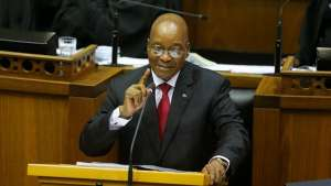 President Zuma has faced calls for his resignation