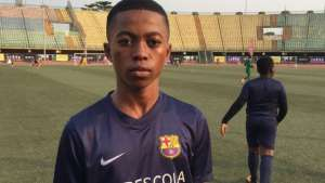 Somagbe Ipedumi dreams of following in the footsteps of Barcelona and Brazil star, Neymar