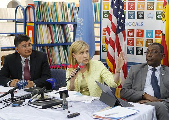 USAID Mission Director Stephanie Funk