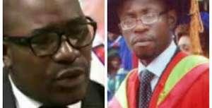 Felix Agbor-Balla and Dr. Fontem Aforteka'a Neba