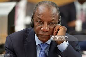 Alpha Conde is President of Guinea