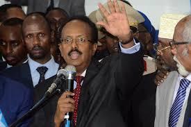 Somalia's new President Mohamed Abdullahi Mohamed Farmajo