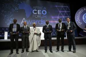 The Winners of the AFRICA CEO FORUM AWARDS 2016