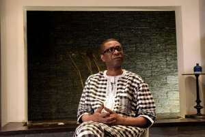 Youssou Ndour is backing a new $32 million initiative to combat malaria in Senegal (AFP Photo/SEYLLOU)