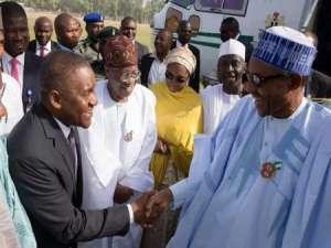 President Buhari with Aliko Dangote
