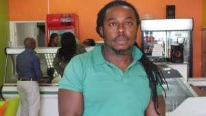 Nigerian Emmeka Uhanna, 47, is a shop-owner in South Africa's economic hub Johannesburg