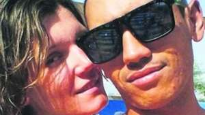 Emlyn Culverwell and his fiancee Iryna Nohai met while working in the UAE