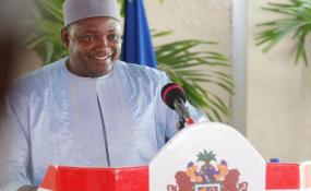 Photo: RFI Adama Barrow
