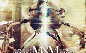 Photo: Moreira Chonguica/Facebook Manu Dibango and Moreira Chonguica album.