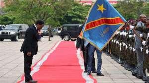 President Joseph Kabila's mandate ran out in December, sparking violent protests [Kenny Katombe/Reuters]