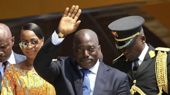 President Kabila came to power in 2001