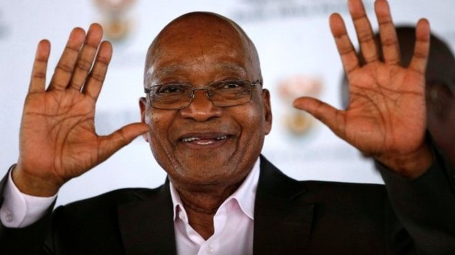Some key allies of the ANC called for President Jacob Zuma to step down