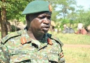 Maj Gen Peter Elwelu