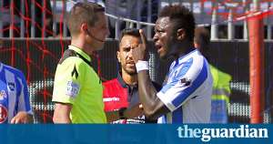 Sulley Muntari's ban was rescinded after red card for walking off over racial abuse