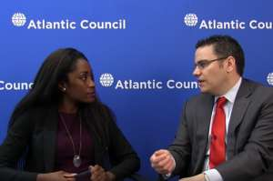 Grant Harris (right), former special assistant to the president and senior director for African affairs at the White House, joins Karen Attiah, global opinions editor at the Washington Post, for a Facebook Live discussion on the importance of US engagement in Africa.