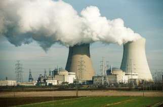 Photo: Emmelie Callewaert/Wikipedia Nuclear reactors in operation releasing hot steam as a side product (file photo).