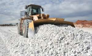 Photo: Daily News Gypsum mining (file photo).