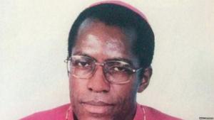 FILE - Cameroon Bishop Jean Marie Benoit Balla was found dead under suspicious circumstances.