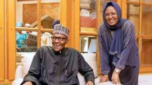 Photo: Premium Times President Muhammadu Buhari and wife Aisha Buhari