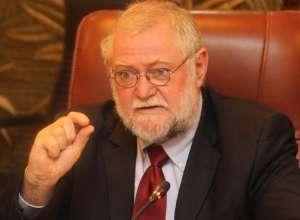 Namibia's Finance Minister Calle Schlettwein