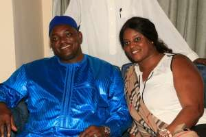 Posing with the President in Sierra Leone, it is Barrow's Gambia now says Fatou Camara