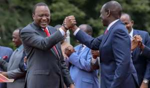 There is stiff opposition for incumbent President Uhuru Kenyatta and his Vice William Ruto