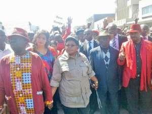 Morgan Tsvangirai and Joice Mujuru join hands in a bid to win the 2018 elections in Zimbabwe.