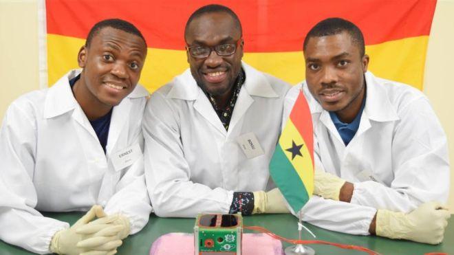 The development team behind the satellite