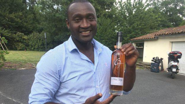 Tebily produced his first brand of Cognac in 2013, five years after quitting football