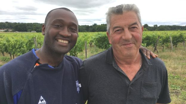 Tebily owns 22 hectares after retiring farmer Jean-Michel Lepine chose to sell his business to the Ivorian, a friend of his late son