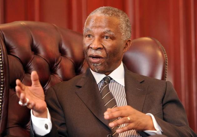 Thabo Mbeki - former president of South Africa