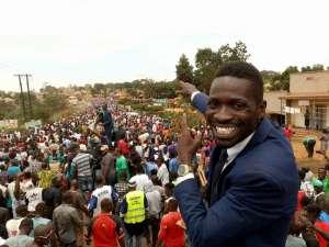 Robert Kyagulanyi Sentamu aka Bobi Wine on the campaign trail. Credit: Bobi Wine.