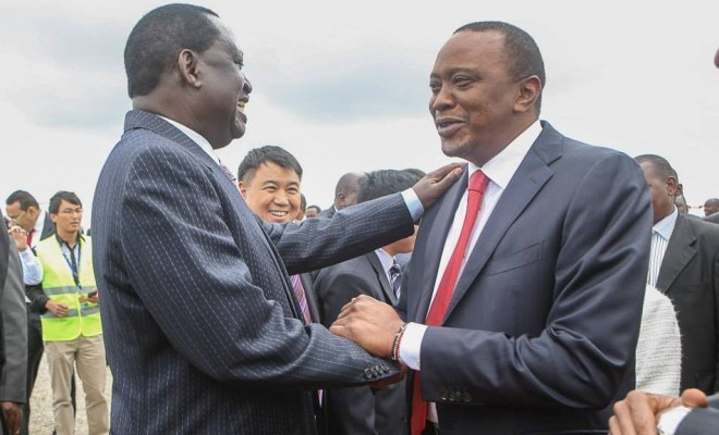 It will be an epic electoral battle between opposition challenger Raila Odinga and incumbent Uhuru Kenyatta