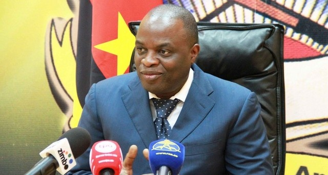 José Carvalho da Rocha, the Angolan Minister of Telecommunications and Technologies,