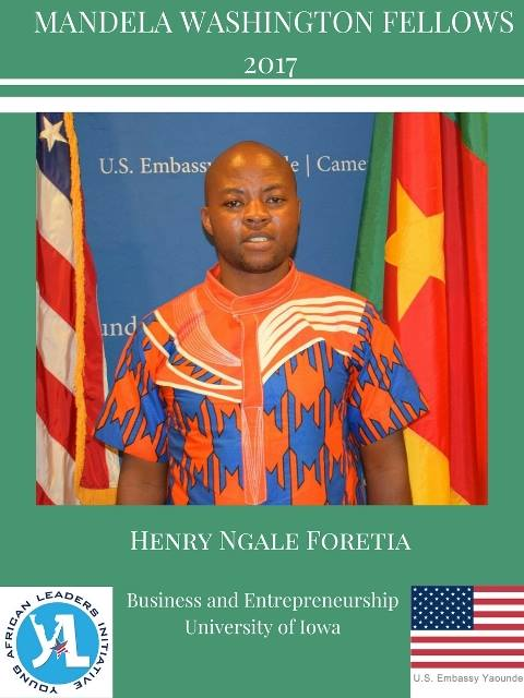 Ngale Foretia Henry, a Fellow from Cameroon hopes to put his experience to use in transforming the poultry sector