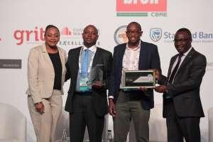 Gugulethu Cele, CNBC Africa (First), Charles Haba, Centrury Rwanda (Second), Michael Idusso, Kigali Heights Development Company (Third), Daniel Kamau (Forth)