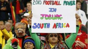 South Africa hosted the World Cup in 2010