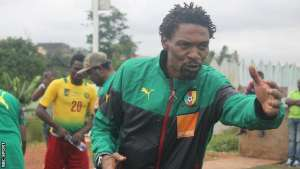 Rigobert Song takes charge of the local Cameroon team in a competitive match for the first time this weekend.