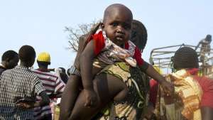 The UN says that 85% of the refugees who have arrived in Uganda are women and children