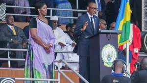 President Kagame was sworn in for a third term