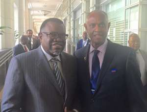 The Constituency for Africa (CFA) Hosted President Hage Geingob of Namibia  During the 2016 Ronald H. Brown African Affairs Series