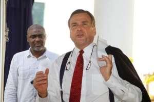 US Ambassador to Nigeria, Stuart Symington
