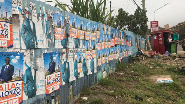 Election posters in Kenya. Photo by: Sara Jerving / Devex