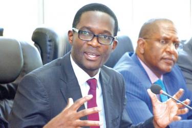 Chief electoral officer Ezra Chiloba